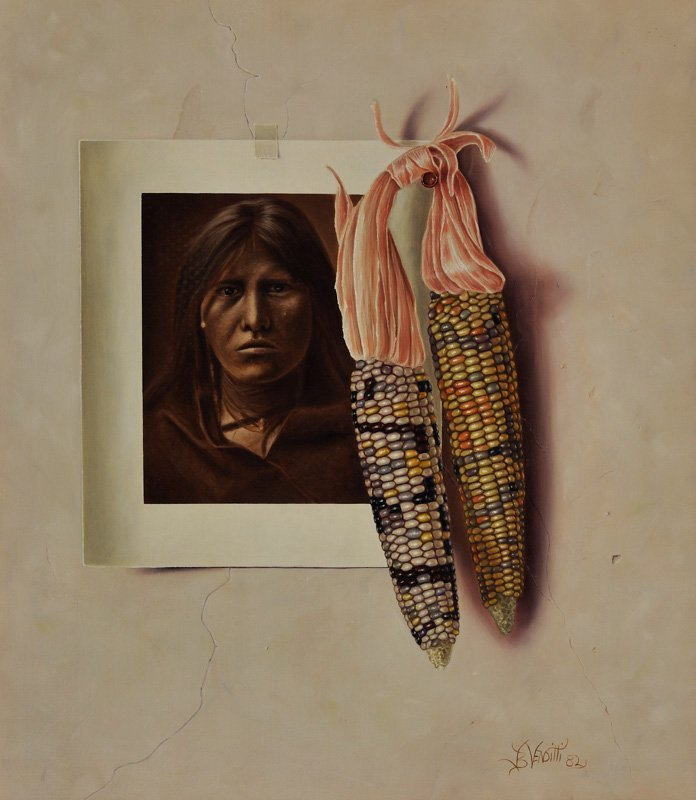 Jerry Venditti 'Indian and Corn'
