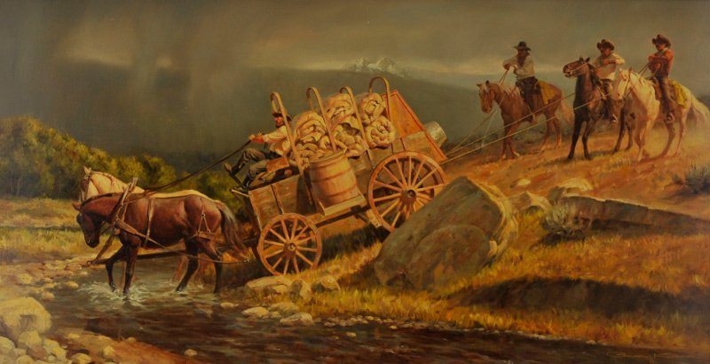 Gary Kapp 'Wagon Crossing'