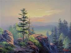 Dalhart Windberg Mountaintop Landscape