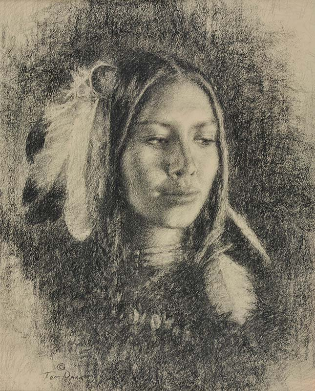 Thomas P. Darro  'Plains Woman'