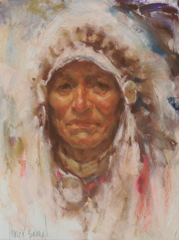 Harley Brown  'Indian Chief'