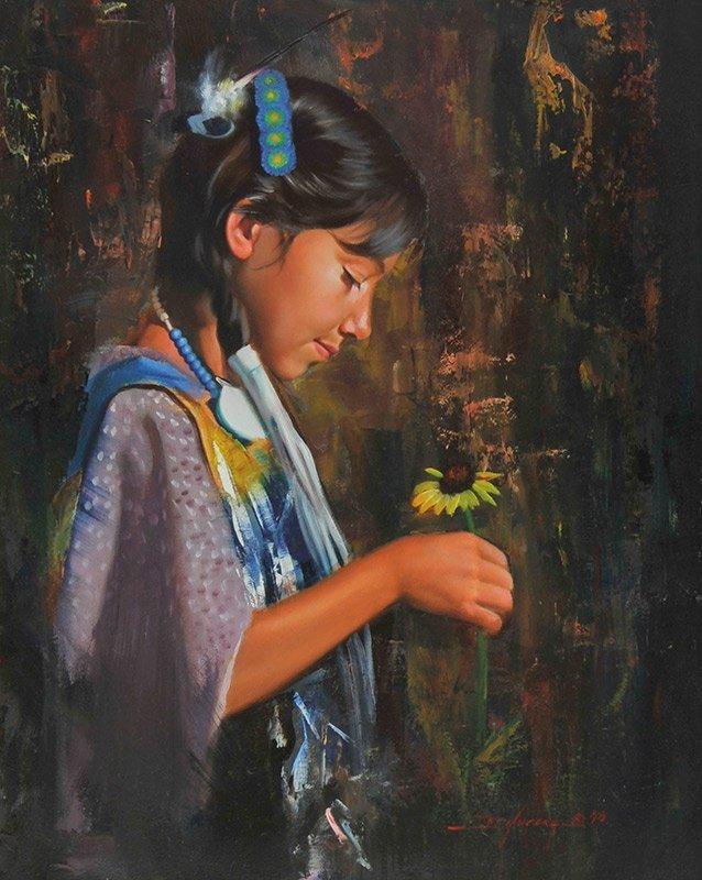 D. Edward Kucera  'Little Sunflower'