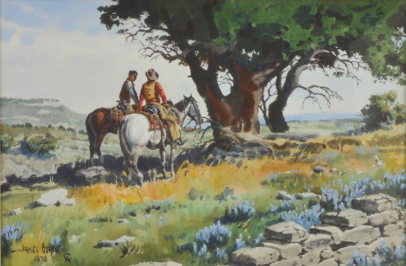 James Boren  ''Neath the Shade of the Live Oak'