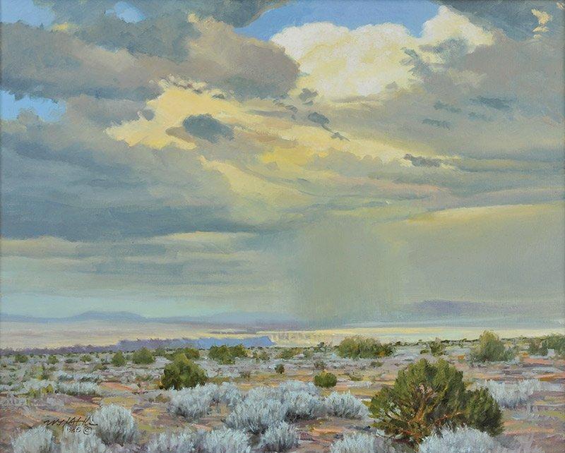William H. Atkins  'Taos Canyon '