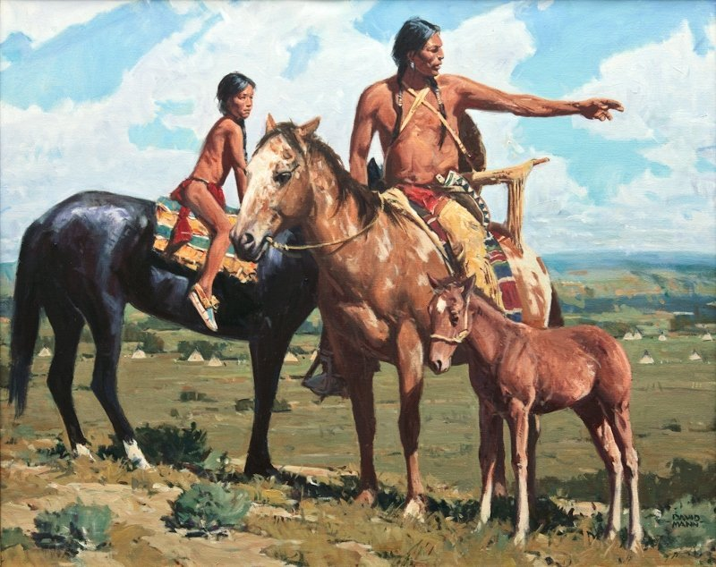 David Mann, 'Land of Their Fathers'