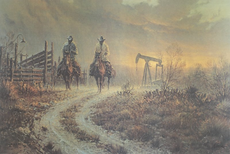 Ranching Pump Jack Style