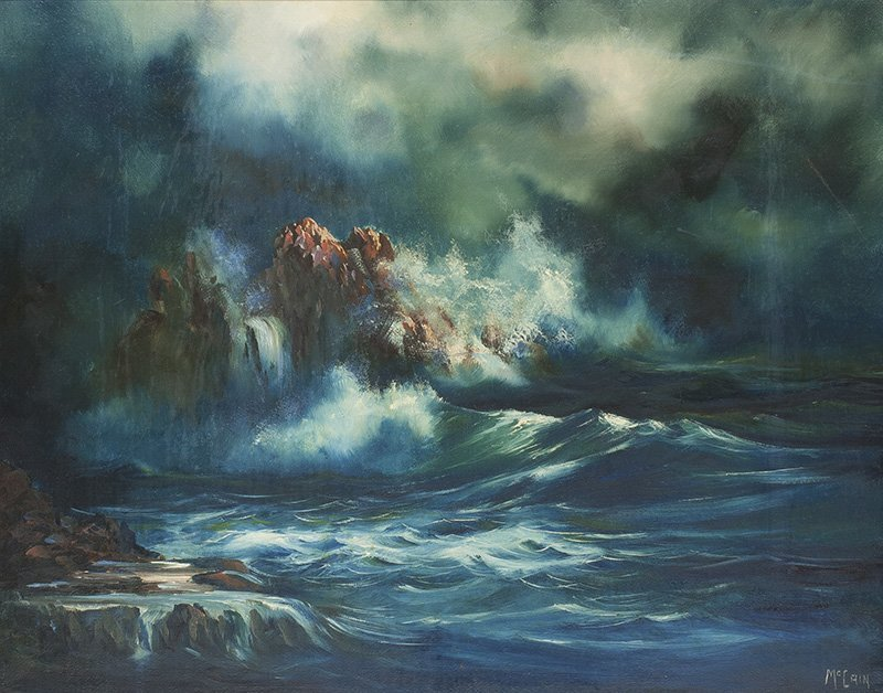 Buck McCain, b. 1943 | Song of the Sea