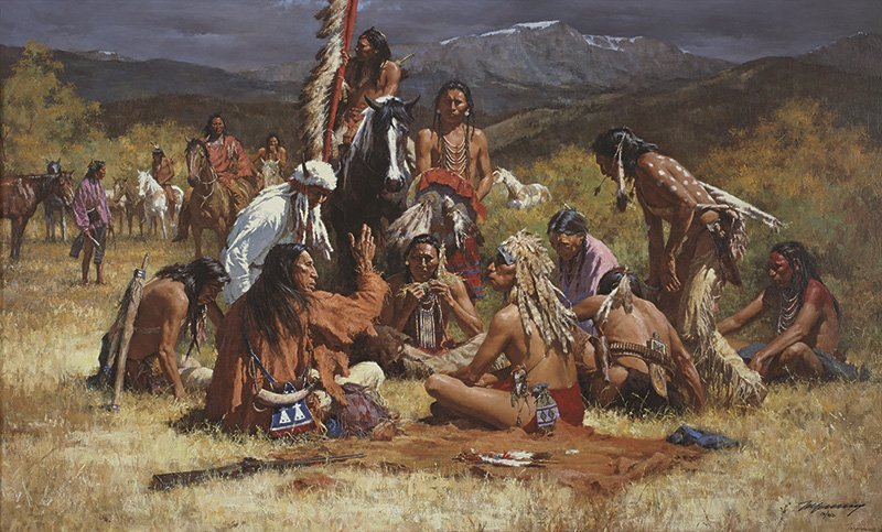Howard Terpning | Council of Chiefs