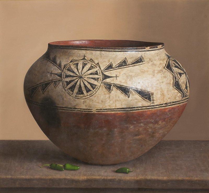 William Acheff, b. 1947 AOA, NAWA   Kiva, 1770
