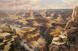 Bruce Cheever b. 1963 | Sublime Gift, Grand Canyon of..