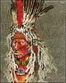 Paul Pletka b. 1946 | Buffalo Caller
