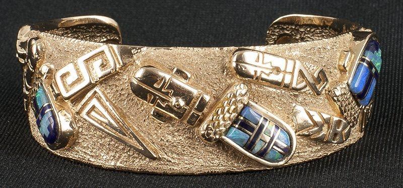 Andy Lee Kirk   Opal Bracelet