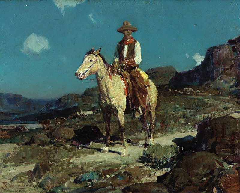 Frank Tenney Johnson | In Old Wyoming aka On the Alert