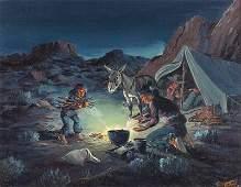Fred Harman | Navajo Camp