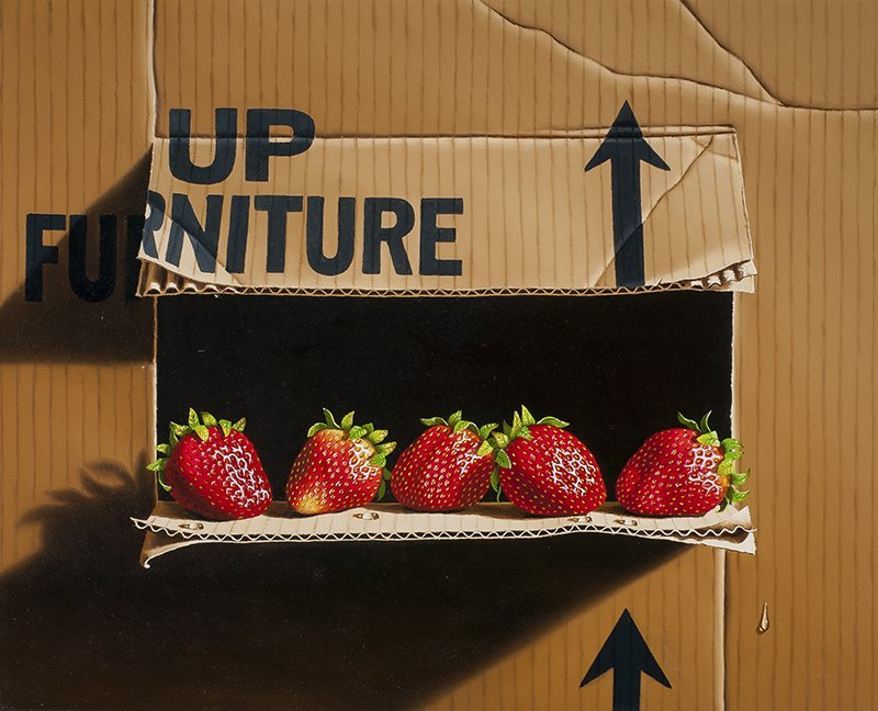 Otto Duecker | b. 1948 Up with Strawberries