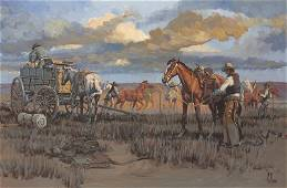 Fred Fellows | Changing Horses for the Evening Shift,