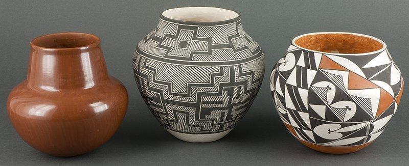 Jemez Pueblo & Acoma Pots