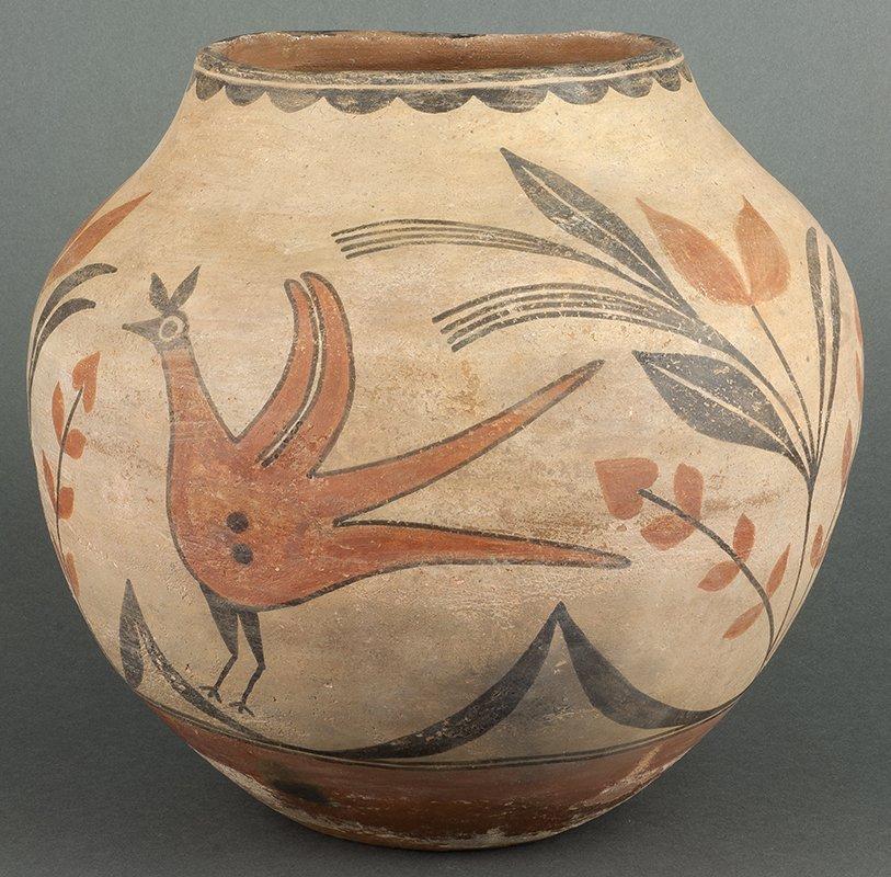 Zia Pueblo Polychrome Olla
