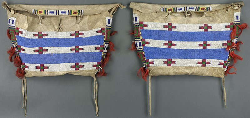 Lot of 2 bags (Sioux/Cheyenne ca. 1809 - 1910)