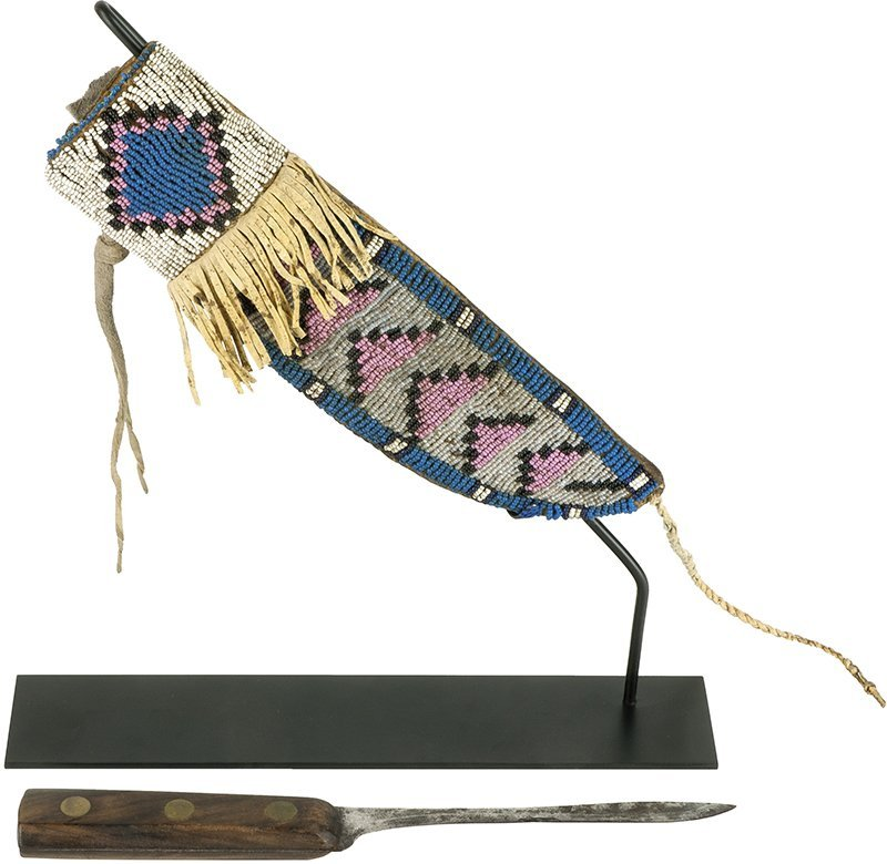 Northern Plains Indian Knife, Fort Teck, Montana