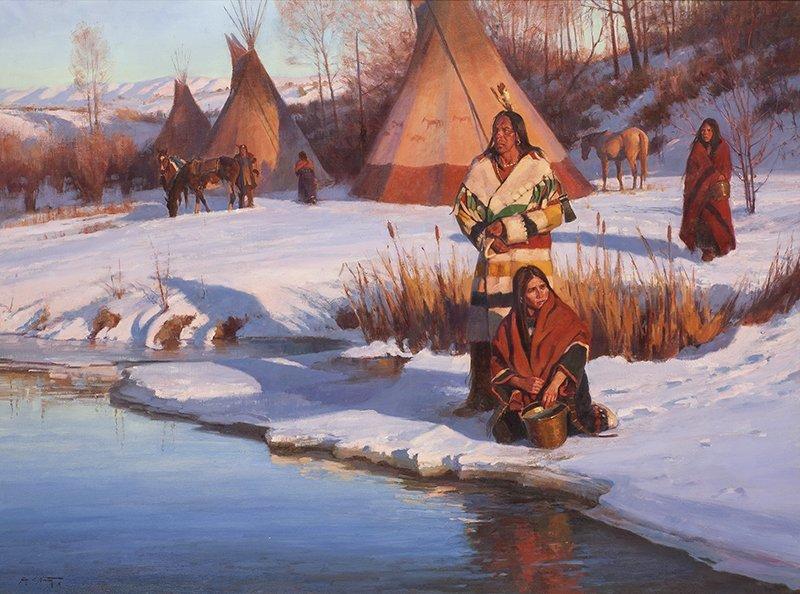 Jim C. Norton   Winter's Camp