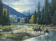 Martin Grelle  Wyoming Morning