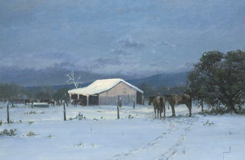 Robert Pummill | Snow Covered Farm