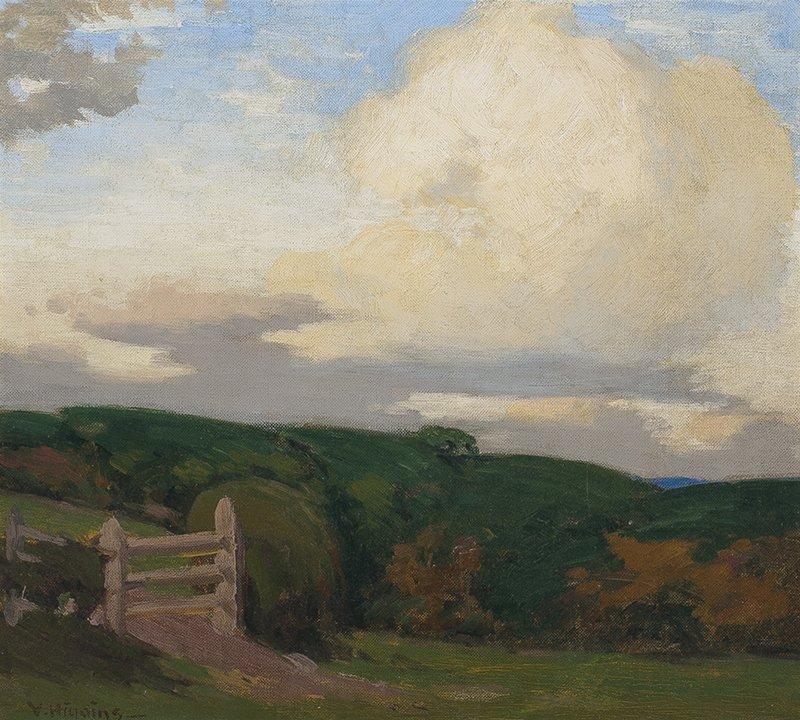 Victor Higgins | Moorland Gorse and Bracken Study