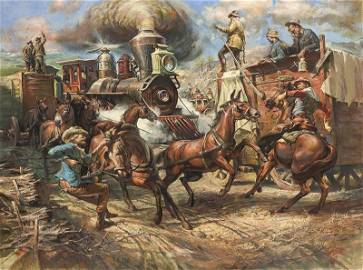 William Harry Ahrendt | First Train to Globe