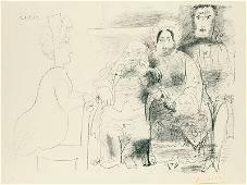 Pablo Picasso | Four Figures (desc)