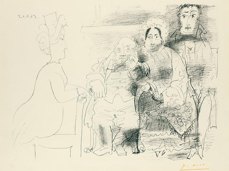Pablo Picasso   Four Figures (desc)