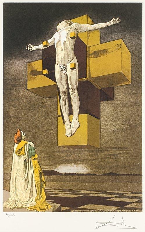 Salvador Dali | Crucifixion (Corpus Hypercubus)