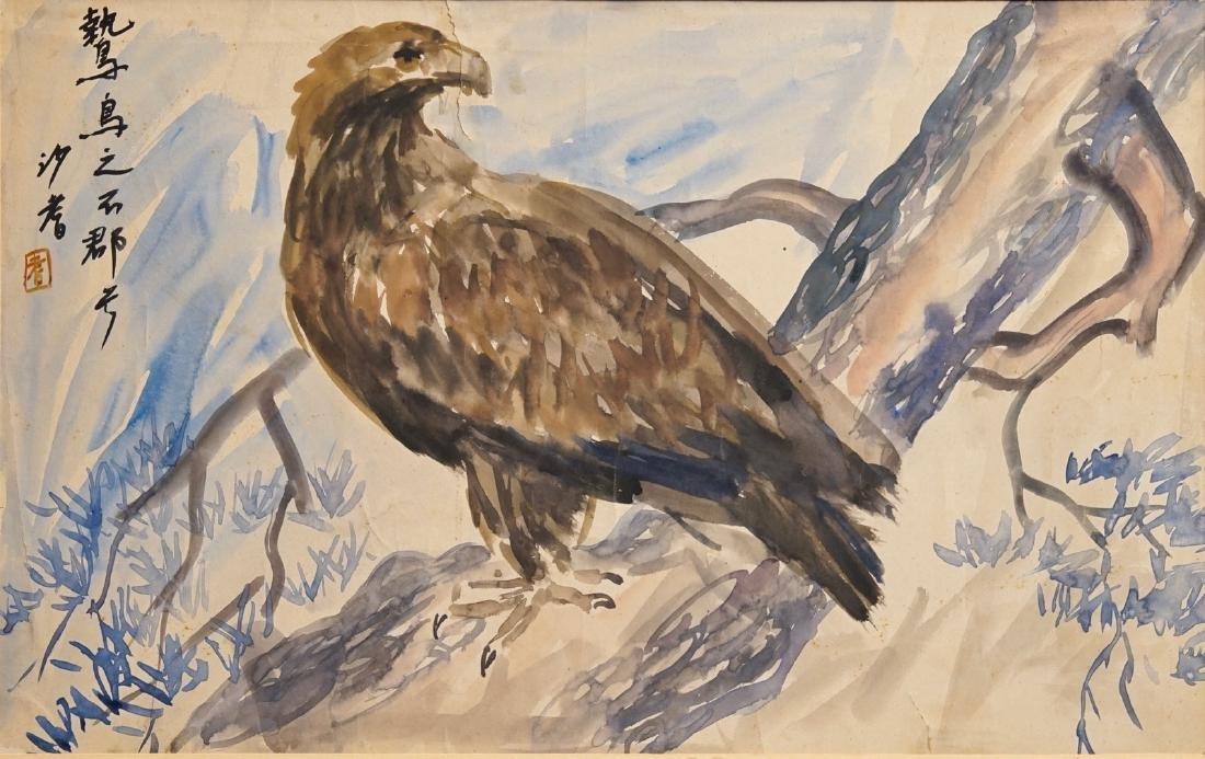 Sadji (Sha Qi, Sha Yinnian) (1914-2005), An eagle,