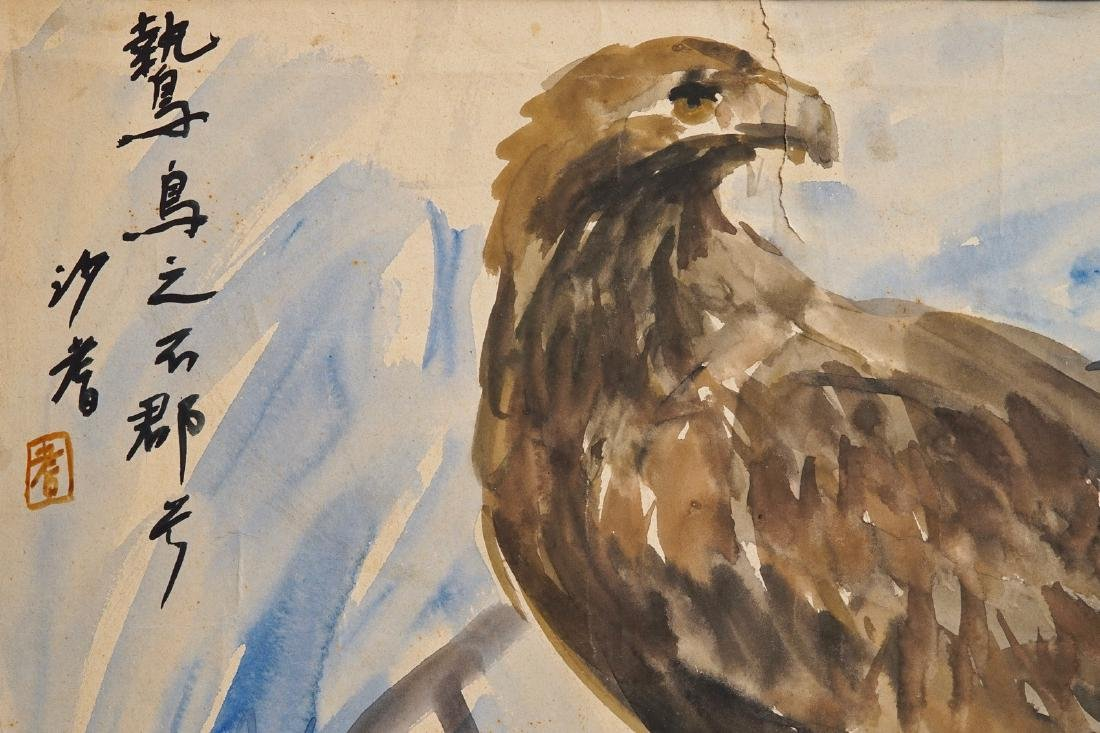 Sadji (Sha Qi, Sha Yinnian) (1914-2005), An eagle, - 2