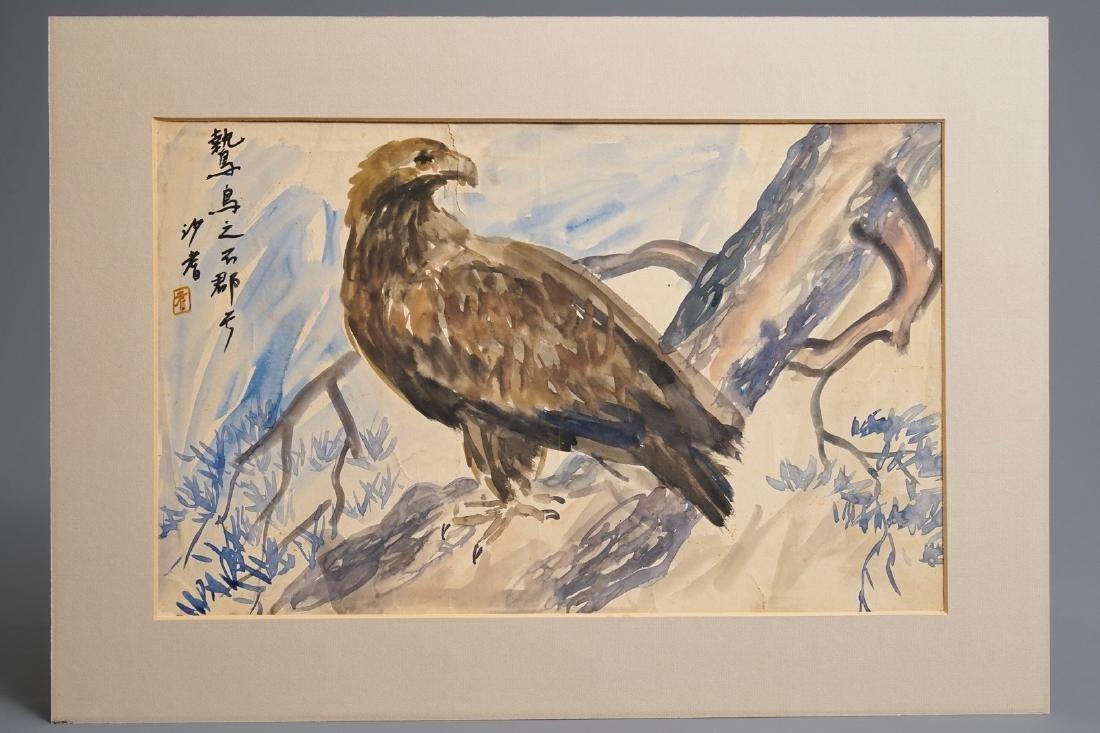 Sadji (Sha Qi, Sha Yinnian) (1914-2005), An eagle, - 3