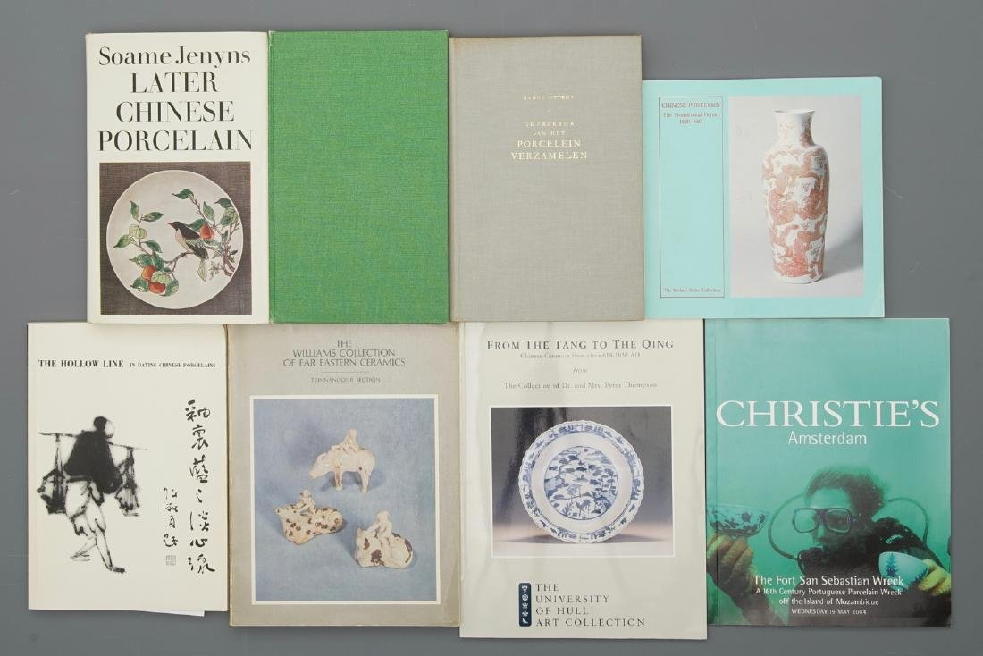42 books on mostly Chinese porcelain, incl. shipwreck - 3