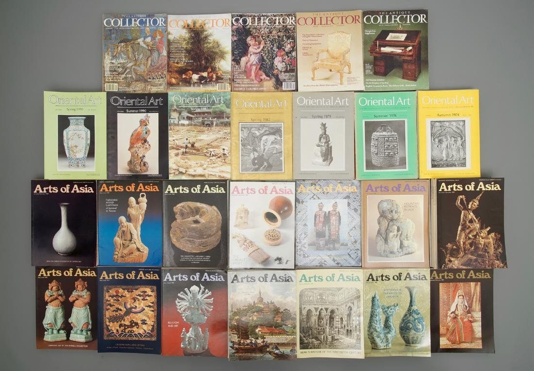 A collection of Asian art magazines: Arts of Asia