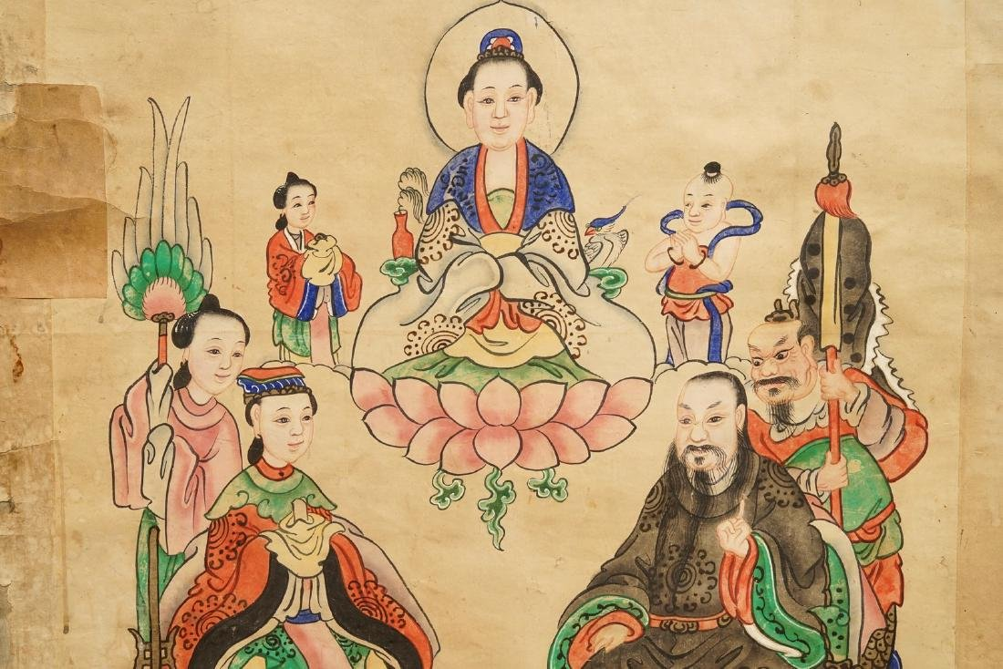 Chinese school: A view on the spring palace, 16/17th C. - 6