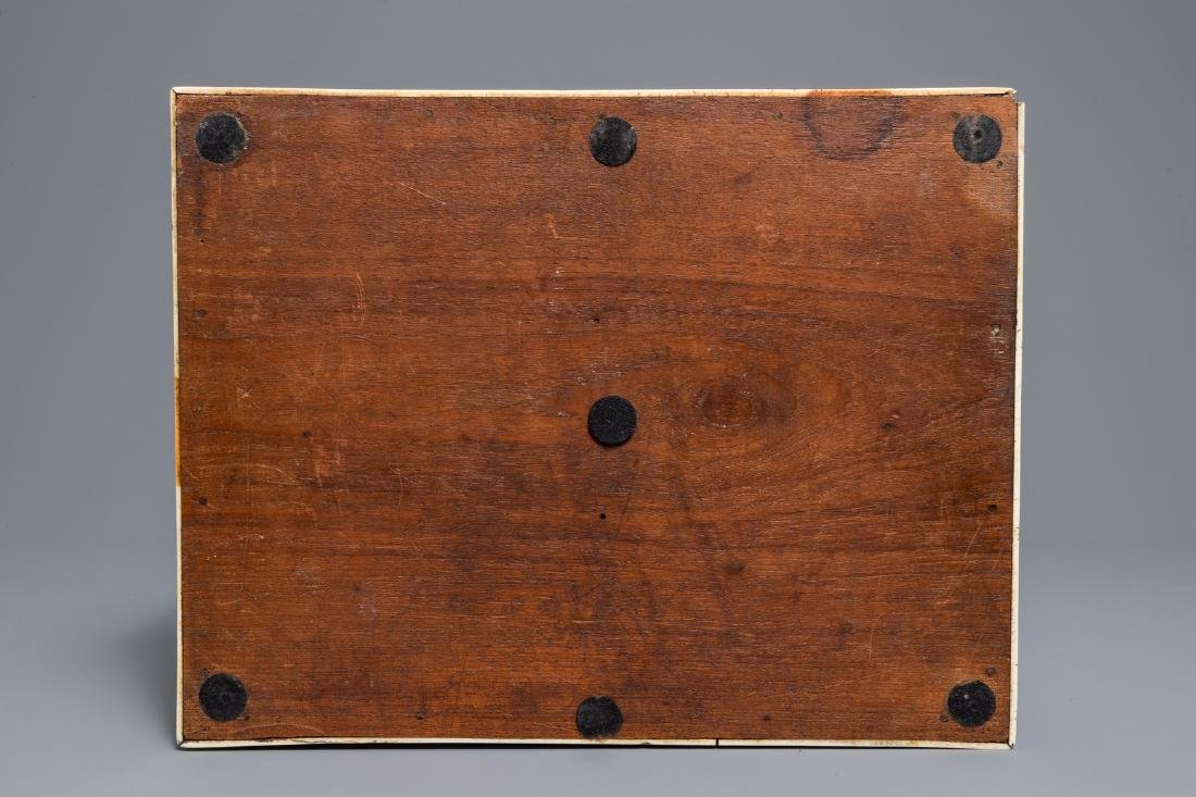A Sinhalese veneered casket, Sri Lanka, 17/18th C - 8