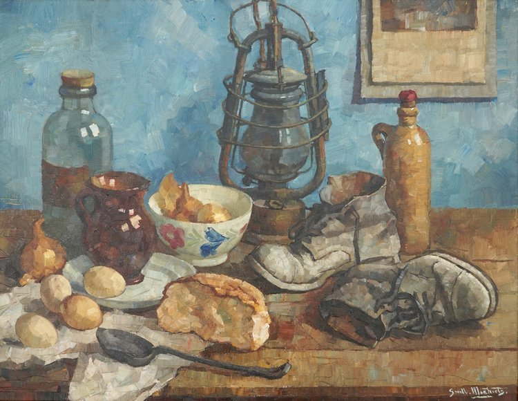 Guillaume Michiels (1909-1997), a still life with a
