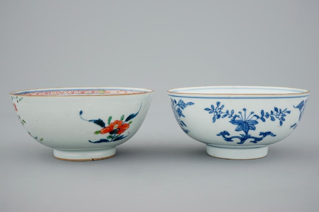 A collection of Chinese blue and white, famille rose - 5