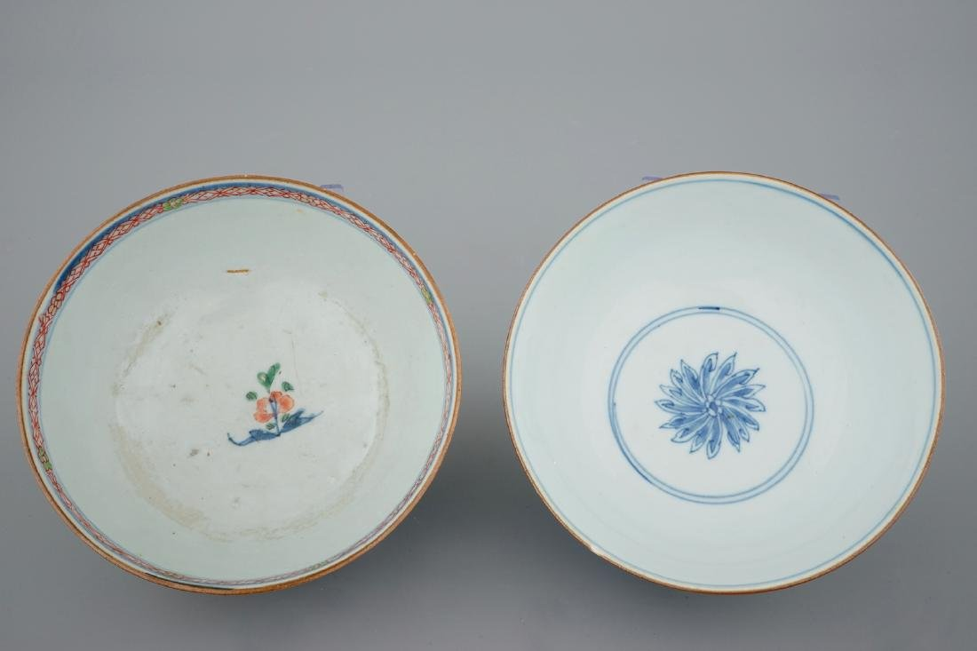 A collection of Chinese blue and white, famille rose - 7