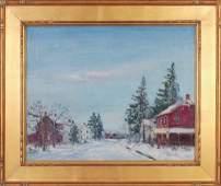 149: WALTER EMERSON BAUM (American 1884-1956) Oil on