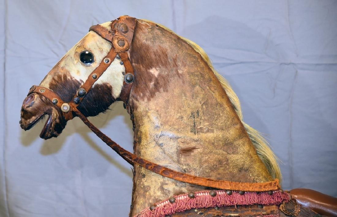 19th Century Child's Rocking Horse - 10