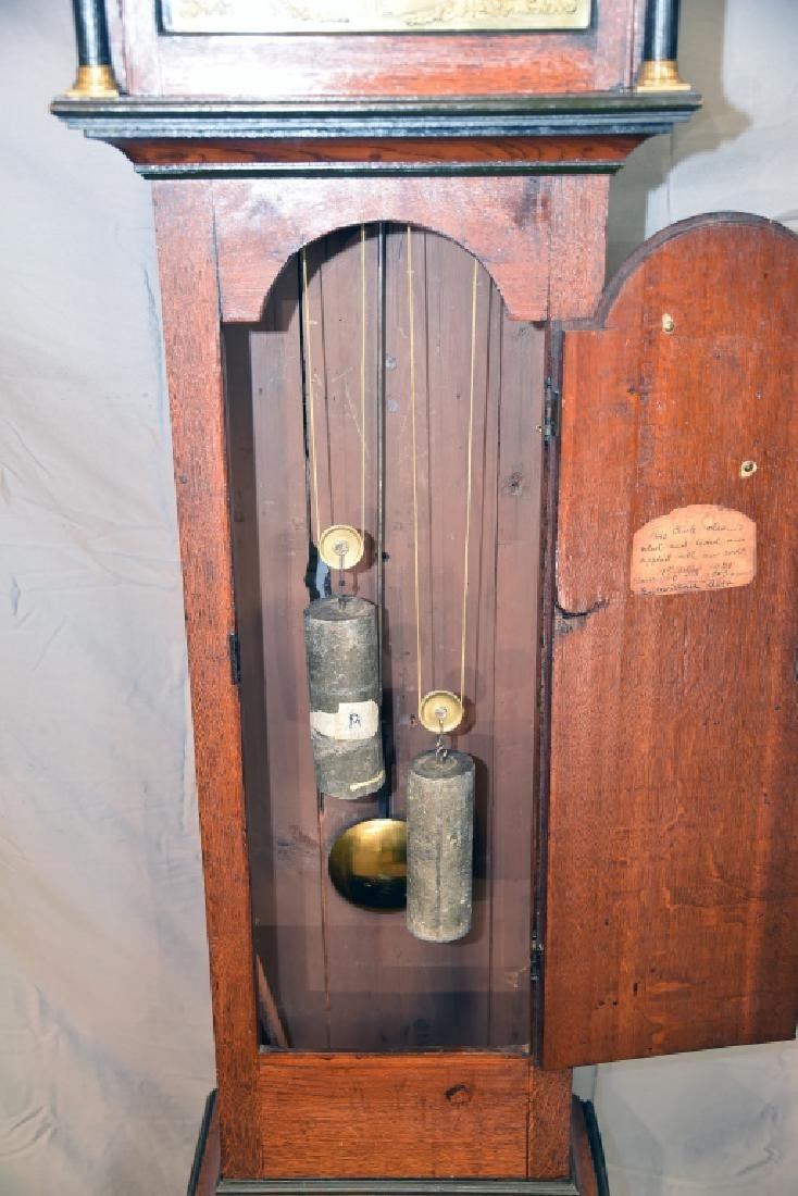 Circa 1780 Scottish Longcase Grandfather Clock - 10