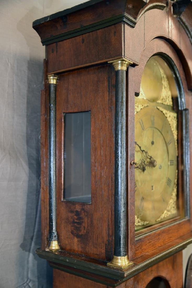 Circa 1780 Scottish Longcase Grandfather Clock - 12
