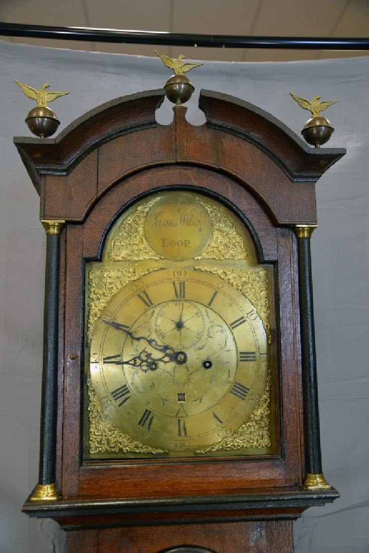 Circa 1780 Scottish Longcase Grandfather Clock - 5