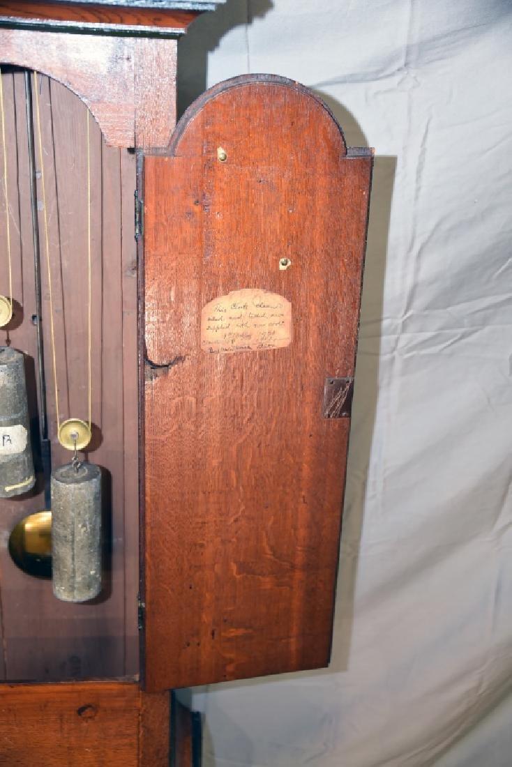 Circa 1780 Scottish Longcase Grandfather Clock - 9