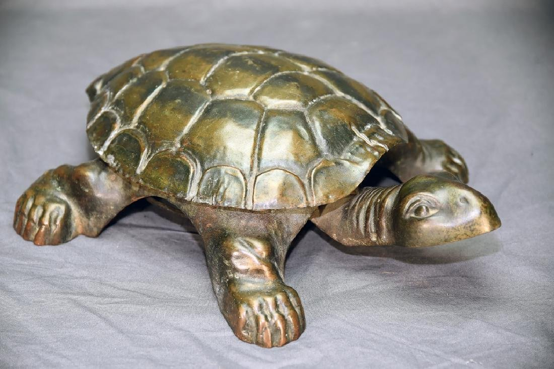 Golden and Jacobson 19th Century Turtle Spitoon