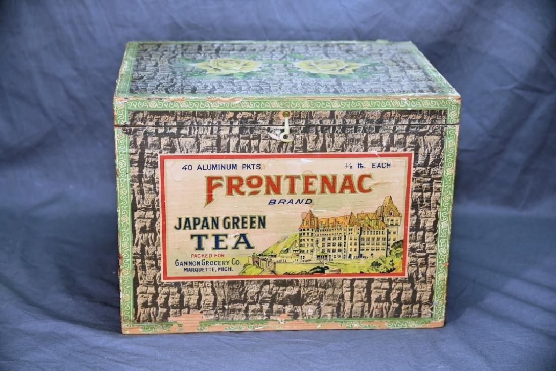 Frontenac Brand Japan Green Tea Box